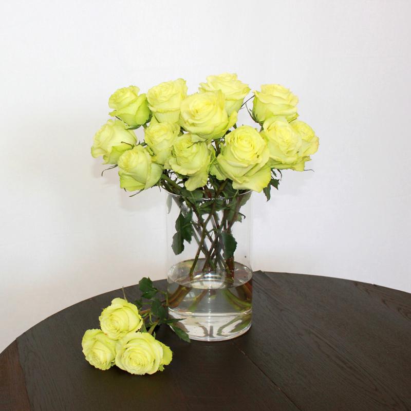Grüne Rose Lemonade