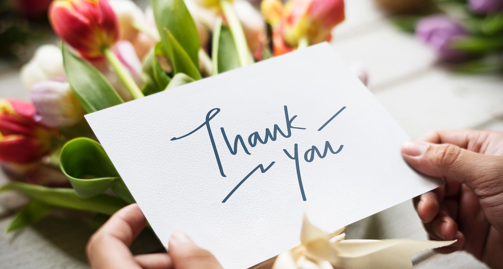 Als Dankeschön Rosen schenken - mit LIEBLINGSROSEN