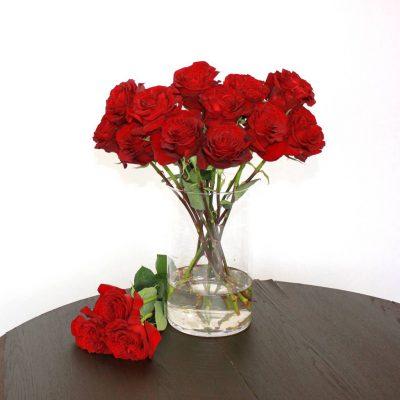 Rote Rose Hearts - Jetzt bestellen bei Lieblingsrosen.com