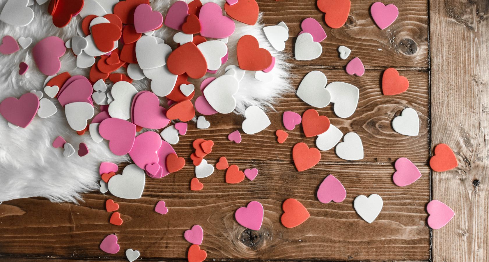 Valentinstag - Rosen schenken, dekorieren mit LIEBLINGSROSEN