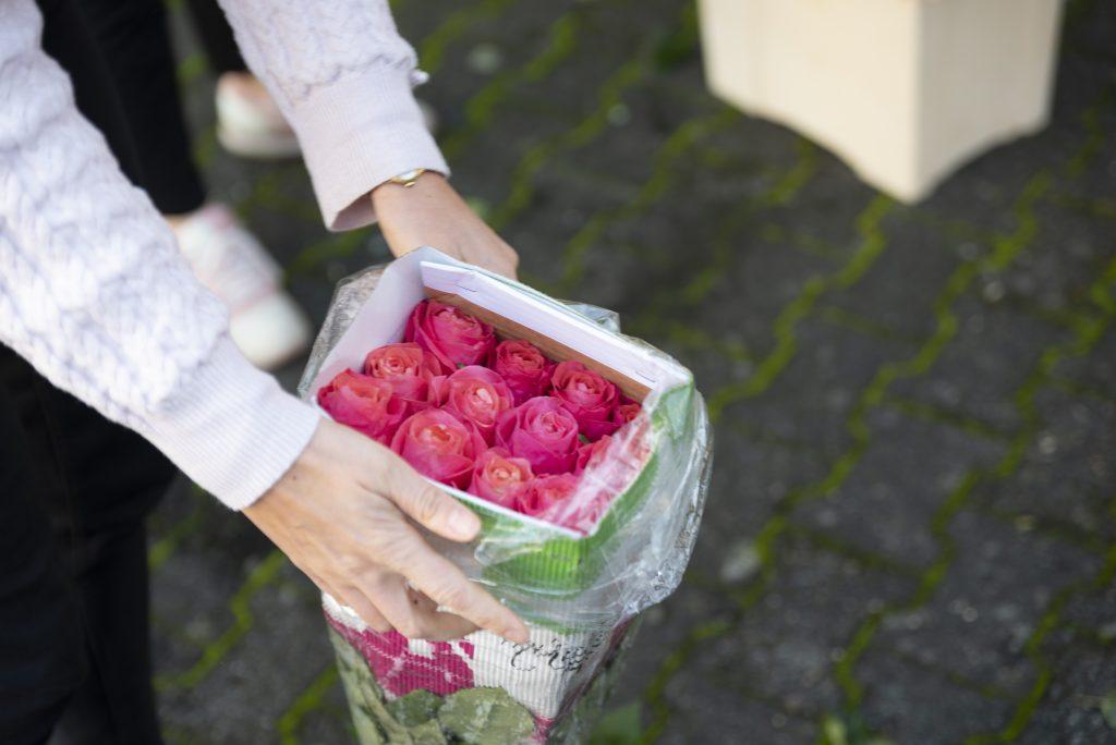 Über uns - Rosen im Originalbund