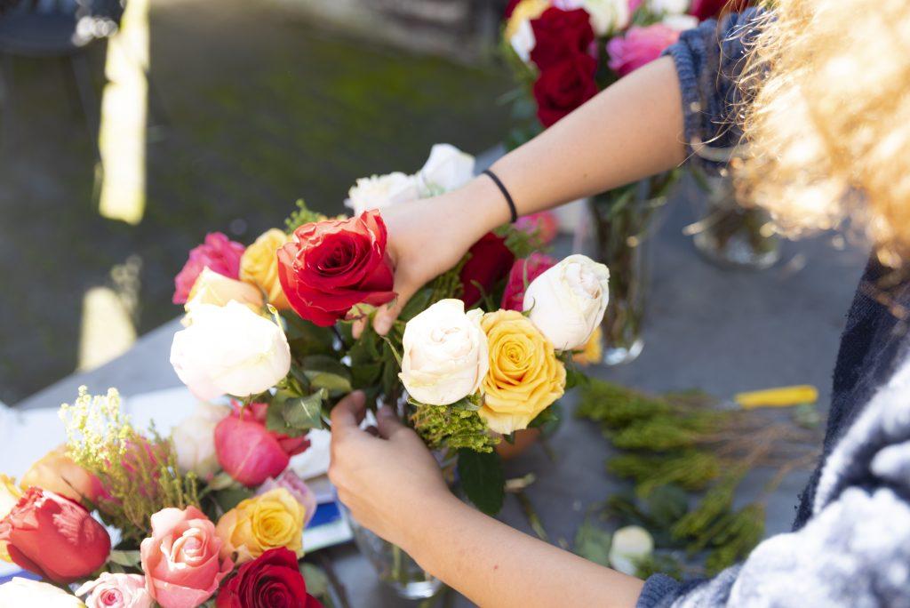 Über uns - Rosen dekorieren