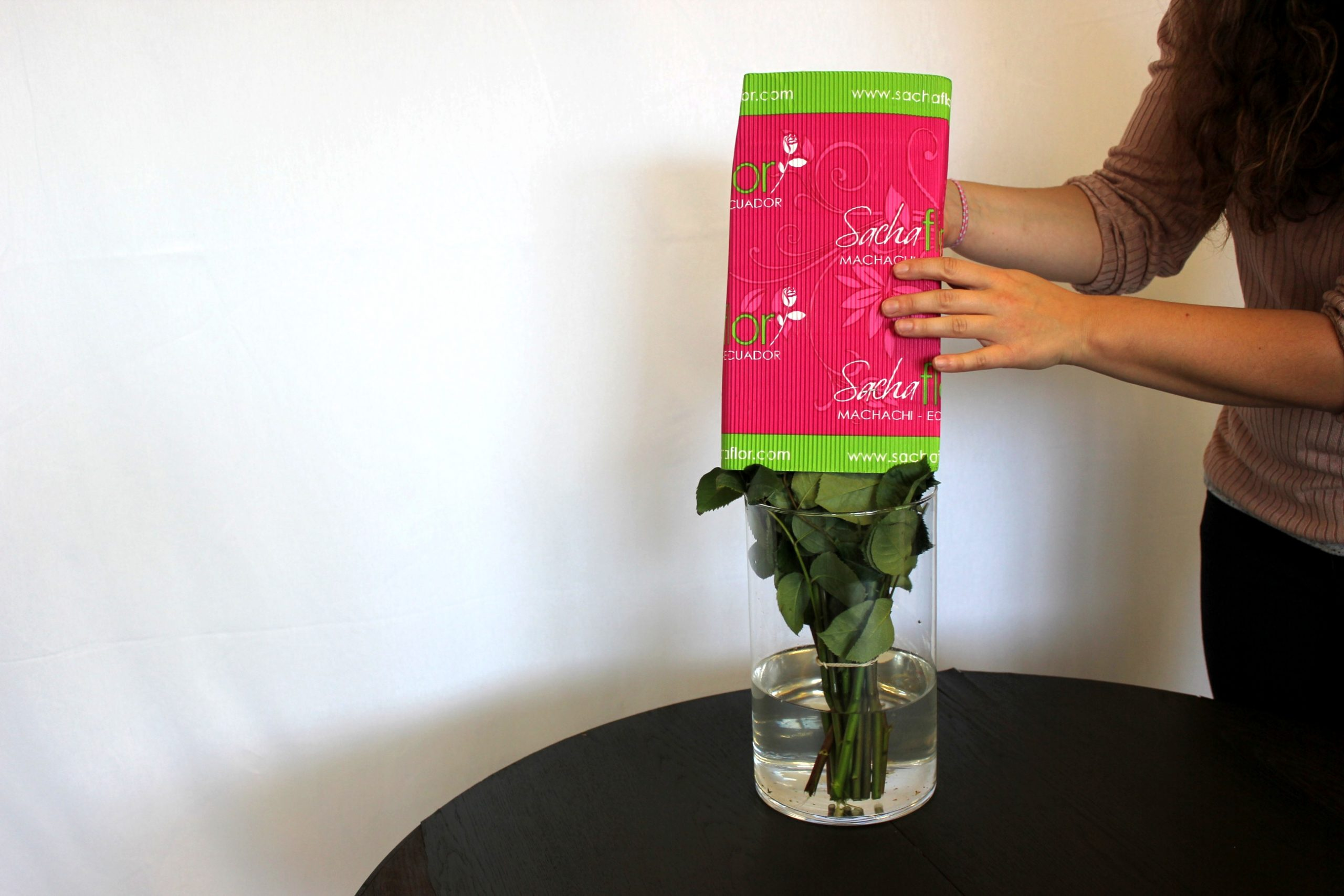 Wasserversorgung der Rosen