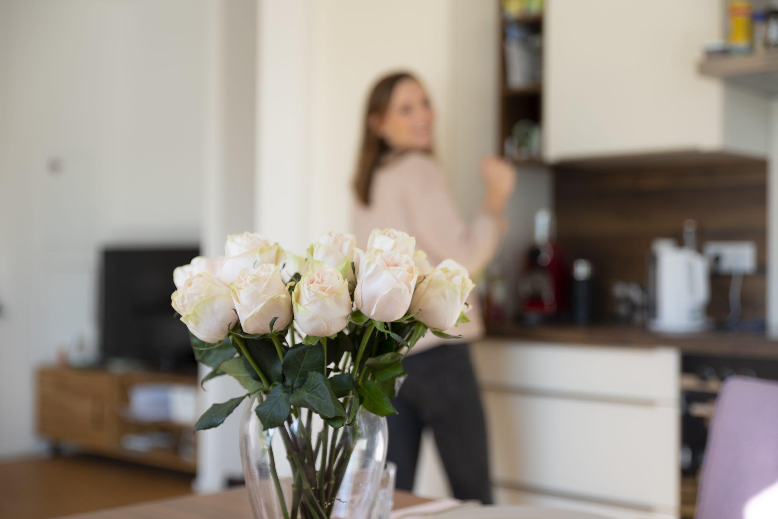 Rosen genießen